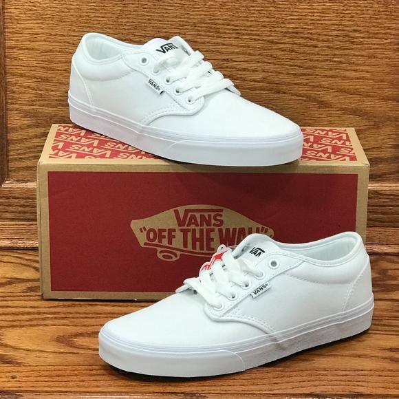 Vans Shoes | Vans Atwood Canvas White